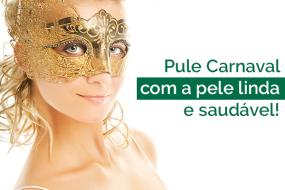 Carnaval: prepare a pele do rosto para os dias de folia